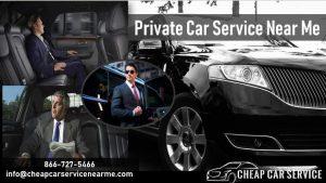 Private Car Services Near Me